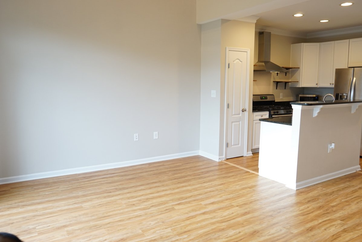 Two-level condo for rent in Lorton makes move-in easy.